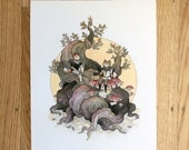 Fox Moon Adventurers - Print