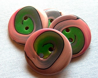 Spiral Button No. 236