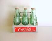 Vintage Cola Carrier, Aluminum Caddy, Coke Six Pack
