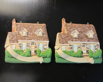 Custom Home Ornament -2 Ornaments - for J. - 2nd week of October 2016