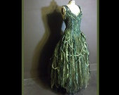 wearydreary swampmonster rag dolly ballgown moormummy dress