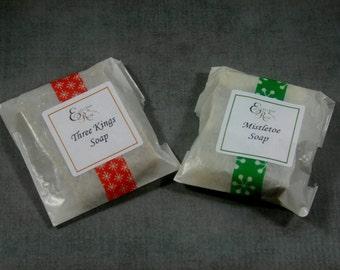 Essential Oil Sampler Soap Bars - Try my soaps - 2  All Natural Sample Soaps