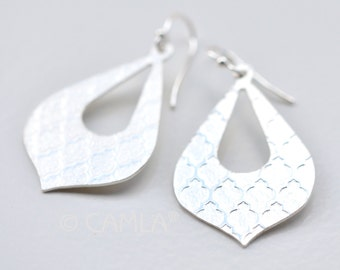 Silver Moroccan Earrings