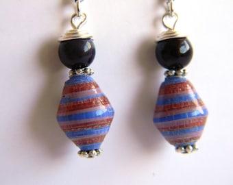 Paper Bead Jewelry - Earrings - #1271