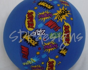 Balloon Ball TOY - Superhero Words POW BaNg SnAp - As seen with Michelle Obama on Parenting.com