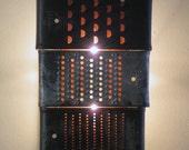 Rapid Wonder pair of industrial wall sconces - plug in or hard wire
