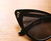 Mystery Lady- Cat Eye Embellished Sunglasses