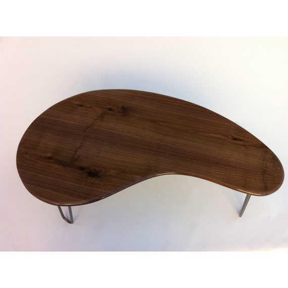 Mid Century Modern Coffee Table 60 Solid Walnut