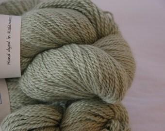 Studio June Yarn Cash-Paca Fingering - Cashmere, Baby Alpaca, Silk - Color: Soft Green