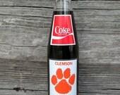 CLEMSON 1981 National Champions Vintage Coke Bottle