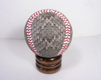 Arizona Diamondback Real Rattlesnake Skin Covered Baseball