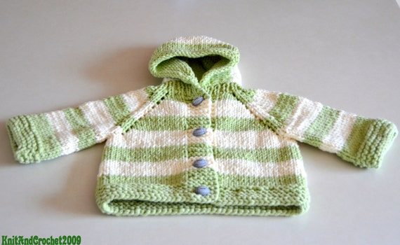 Sweater,Football Button Newborn Sweater, Baby Boy Sweater, Hand Knit Sweater