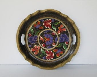 Lovely Mexican Batea Tray