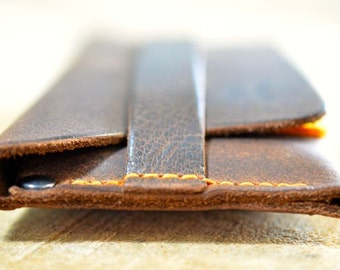 iPhone 5 Leather Sleeve Case LITTLE RAW