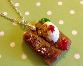 Super Yummy Katsu Curry Necklace