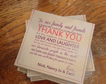 Personalized cd sleeve wedding favor ANY COLOR {pack of 100}