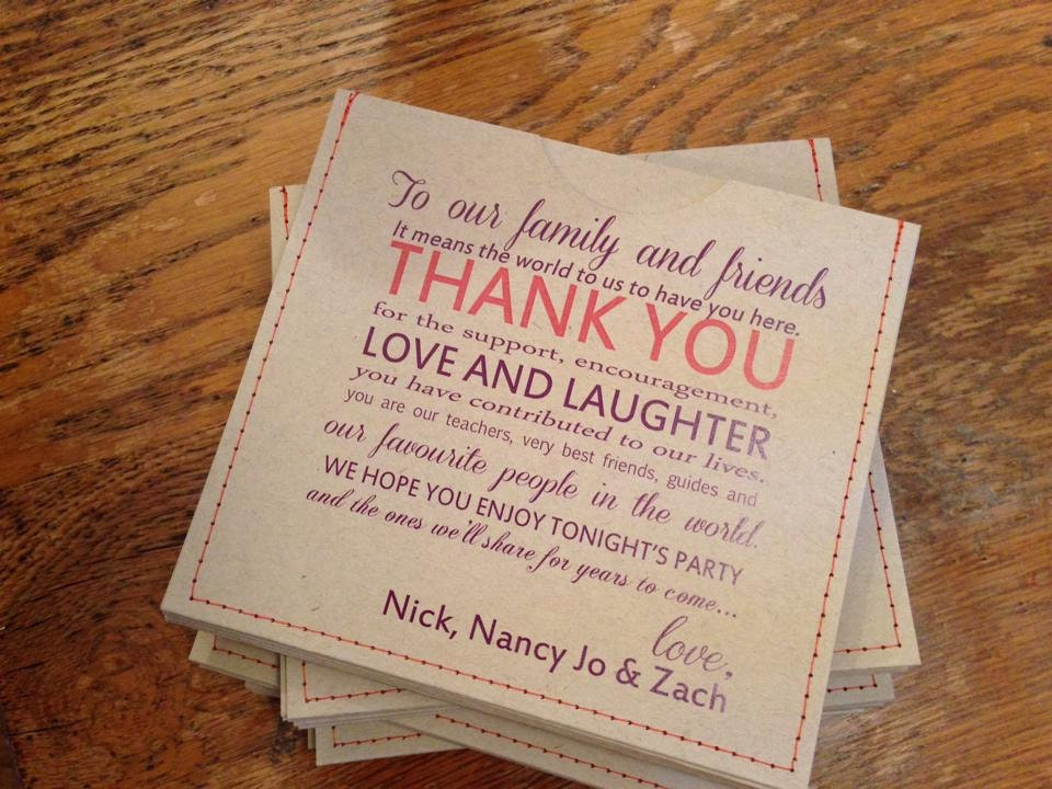 Personalized Cd Sleeve Wedding Favor ANY COLOR Pack Of 100