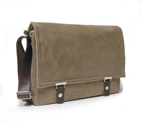 messenger bag for 13 quot macbook air with leather
