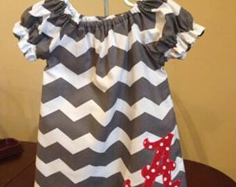 Alabama Game Day Dress for Girls