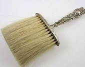 Unger Brothers Victorian Art Nouveau sterling silver clothing brush