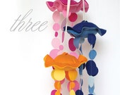 Jellyfish Felt Mobile // Three // Benzie