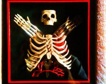 Skull, Fork and Organs Diorama