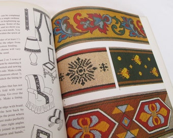 Traditional Period Needlework for Antique Furniture Vintage Book Jarry Dobry Home Decor Sewing Jacobian Crewel Tapestry Embroidery