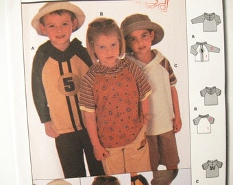 Burda 9886 Sewing Pattern Children Shirt size 2 to 6