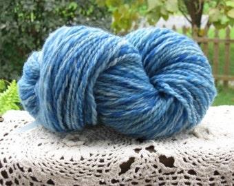 Little Boy Blue Corriedale Handspun Yarn