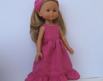 Clothes for Corolle Les Cheries,Paola Reina Doll Dress and Headband