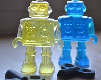 Childrens Soap - Robot Toy Soap - Soap for Kids - Holiday Gift - Robot Soap - Fun Soap - Novelty - Gift for Him - Party Favor