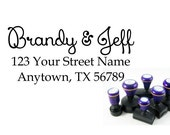 Self inking custom Personalized Return address Name rubber stamp R169