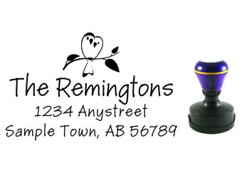 Personalized Self Inking Address Stamp - Return address stampp R232