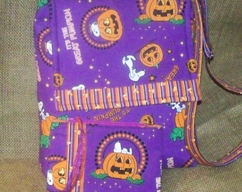 Snoopy The Great Pumpkin Halloween Purse