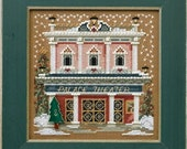 Mill Hill Buttons & Beads Winter Series Christmas Village, Palace Theater MH14-4302 Counted Cross Stitch Kit