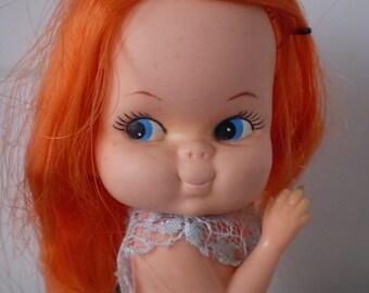 Vintage Holiday Fair Hedaya BIG EYE Sassy Doll Mod Doll Circa 1966