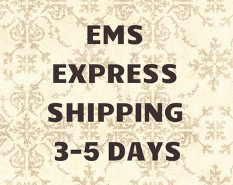 USA EMS EXPRESS Worldwide shipping up to 5 days