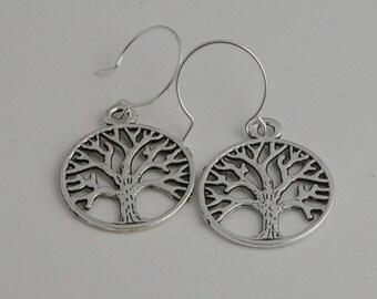 Tree Earrings -Family tree earrings - nature