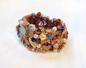 Late Fall Cuff Bracelet