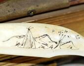 vintage bone letter opener...  Home Decor... Nov 54