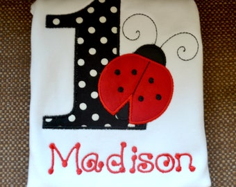 Ladybug shirt onesie-Ladybug birthday shirt-Ladybug Birthday-first birthday ladybug-ladybug birthday shirt