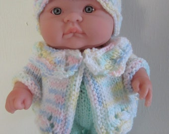 Knitting Pattern Berenguer Baby Doll Lace Pram Set for the 10 inch Lots to Love Doll instant digital download