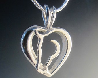 Hearts and Horses Necklace