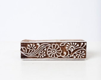 Indian Wood Stamp 295a