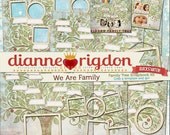 Family Tree Kit - Instant Download-High Res-Digital - We Are Family QUICKSTARTER
