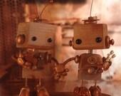 Steampunk Robots Cake Topper 22