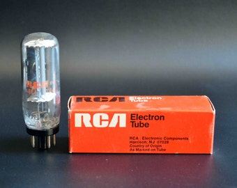 Vintage RCA Vacuum Tube 6DE4 6CQ4 for Television, Radio, Amplifiers