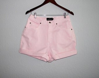 Light Pink High Waisted Shorts - The Else
