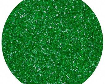 Green Sanding Sugar 4 Ounces