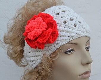 Crochet Head Band Ear Warmer Pattern